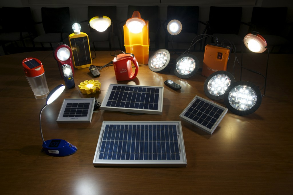 An assortment of products tested by Lighting Global ©Kellie Jo Brown/Lighting Africa/2012.