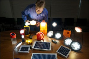 Lighting Global sets standards and helps the industry verify quality of solar lighting products © Lighting Global