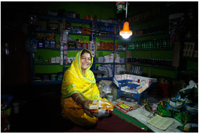 Quality-verified pico-solar lanterns are electrifying remote off-grid Bangladesh transforming lives