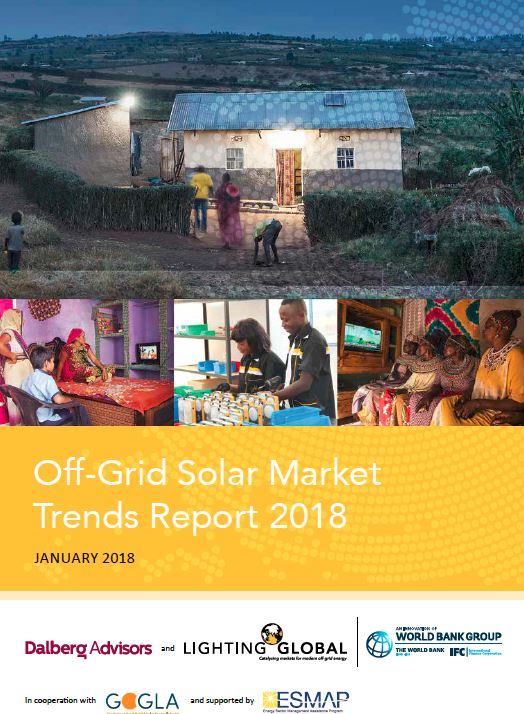 The 2018 Global Off-Grid Solar Market Trends Report | Lighting Global