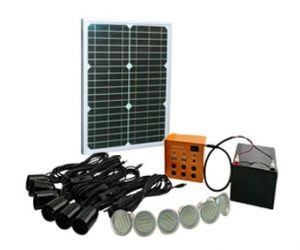 Savvy Solar Lighting Kits Family