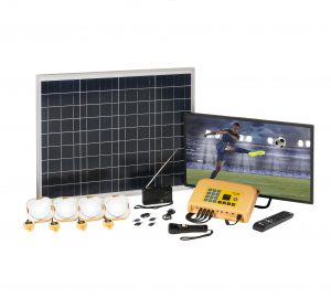 Azuri 50w Tv 120 Solar Home System Lighting Global